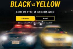 Con Black & Yellow di BWin 5€ Freebet e Bonus fino a 200€ !