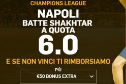 Quote Maggiorate Shakhtar Donetsk Napoli