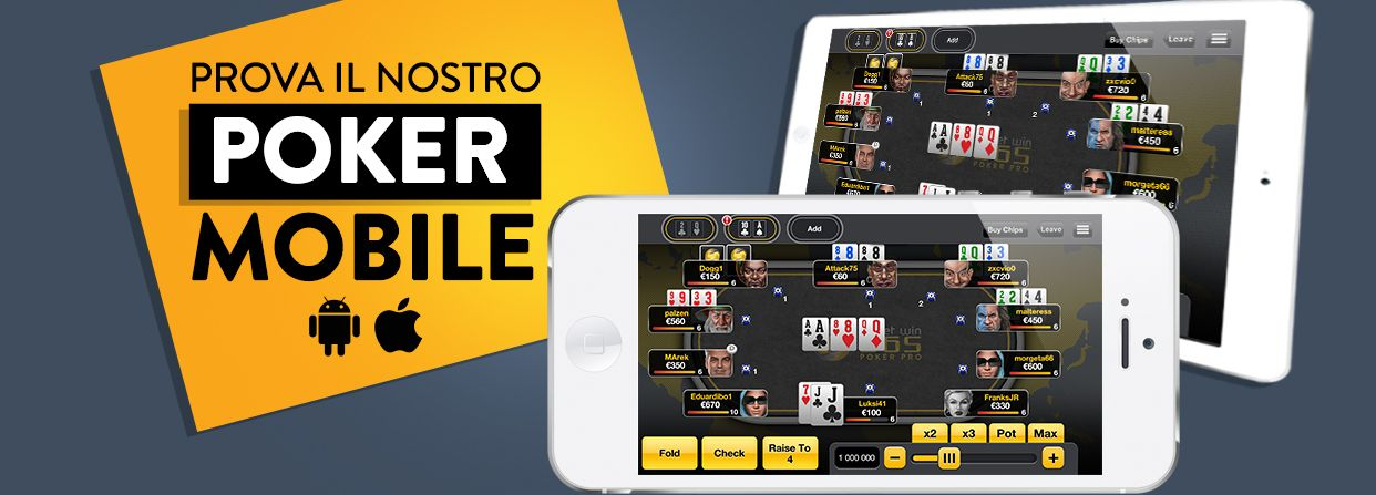 Planetwin365 Mobile Poker