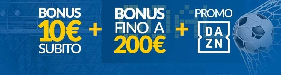 Welcome Bonus Eurobet